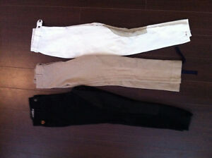 3 pairs of riding breeches