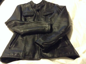 Women's Stunning Custom leather jacket & chaps. Perfect shape