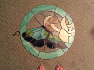 Beautiful hanging stained glass for sale