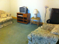 1st Aug Spacious Basement, Includes All Utilities, Laundry & Net