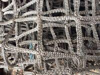 Heavy duty lorry cargo net