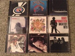 Music CD's - $1 each