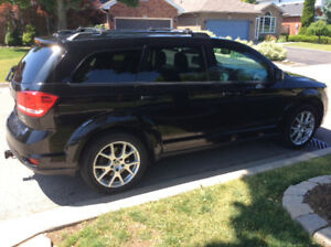 """""""ACCIDENT FREE"""" ONE OWNER 2013 DODGE JOURNEY CREW 3.6 FWD"""