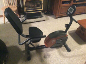 Recumbent Stationary  Exercise Bike
