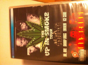 Up in smoke tour dvd eminem .dr.dre,snoop dogg ice cube