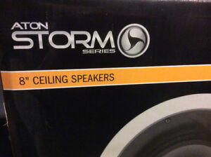 "Aton Storm Series A81C 8"" ceiling 2 way speakers"