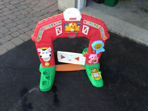Baby / toddler barn toy