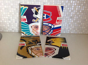 1994-95 Kraft Goalie Masks Complete set of 8