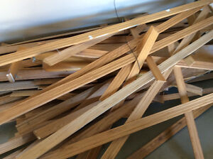 Complete oak finishing trim for a 1200 square ft house for sale!