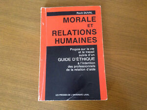 Morale et relations humaines
