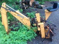 Case Bobcat backhoe attachment