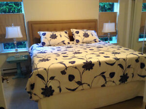 2 bed 2 bath ground level avail May 15 or June 1 Gordon Head