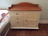 Beautiful nursery furniture set - 5 pieces