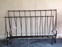 Laura Ashley king size bed