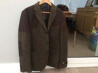 Barbour tweed hunting jacket 42R