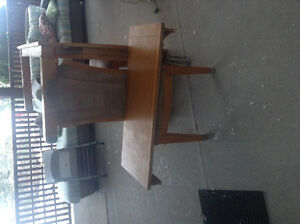Large Table five chairs
