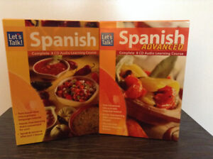 Learn Spanish – Complete 8-CD Beginner Course – NEW, SEALED