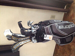 New set of Cobra clubs with bag