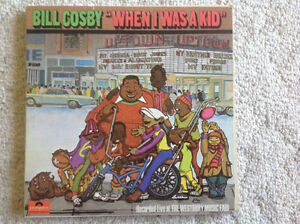 Vintage Bill  Cosby LP's