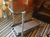 Tread mill running excerciser excellent condition