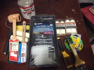 Paint & All the Supplies you need