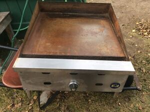 US Commercial flat top Natural gas Grill