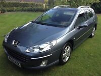 2009 Peugeot 407 1.6 HDi only 82k