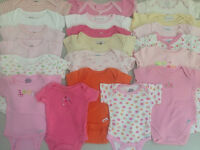 LOTS of Girl's Size 0-3 Months Clothes
