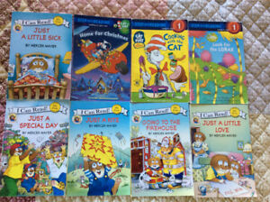 8 Dr. Seuss and Mercer Mayer early reader books