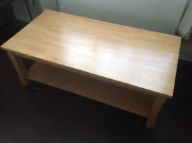 Large sturdy coffee table
