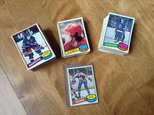 1980 OPC Hockey cards