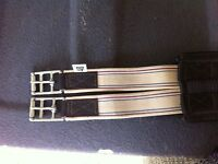 Sz 48 brown leather comfort girth
