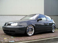 VW Golf MK3 GTI , VR6 , 16v ABF , custom front end , MK4 convertible , cabriolet