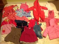 Baby girl clothes age 0-6 months