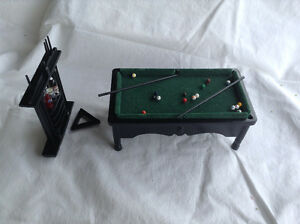 Dollhouse Miniature Pool Table Kitchener / Waterloo Kitchener Area image 2