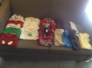 Box of boy's 3-6 months clothes