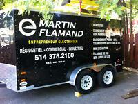 Martin Flamand Entrepreneur Électricien