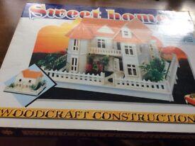 Woodcraft Construction Kit (House)
