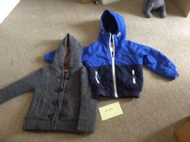 Next boys age 4 jacket with Duck & Dodge wool jacket
