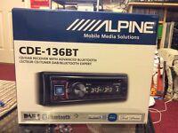 Alpine CDE-136BT