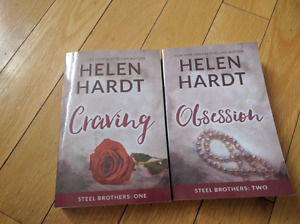 "First 2 books of Helen Hardt series, ""The Steel Brothers"""