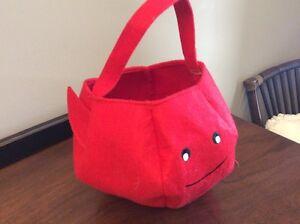 Devil halloween trick or treat bag $5