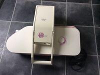 Domena passion steam press with small ironing board