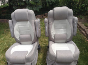 Custom made Captain seats never used
