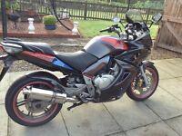 1000cc Honda cbf 09 A-7 ABS custom paint great machine