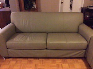 Paliser Leather Couch & Chair Kitchener / Waterloo Kitchener Area image 2