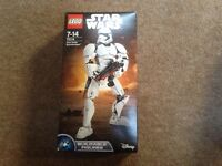 Lego Star Wars First Order Storm Trooper. 75114. Brand new