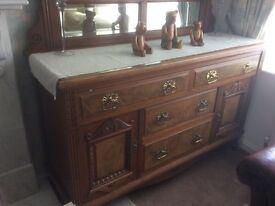Antique Sideboard / Dresser