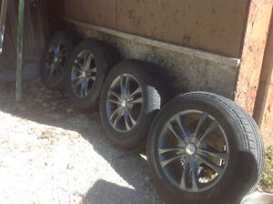 Sacchi rims and tires