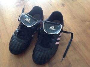 Girls' size 1 adidas soccer cleats